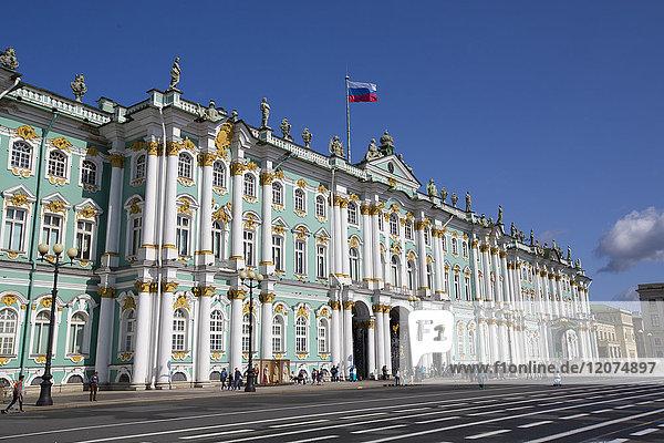 State Hermitage Museum  UNESCO World Heritage Site  St. Petersburg  Russia  Europe