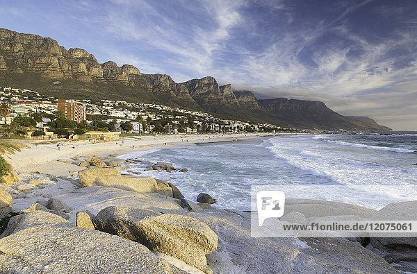 Camps Bay  Cape Town  Western Cape  South Africa  Africa