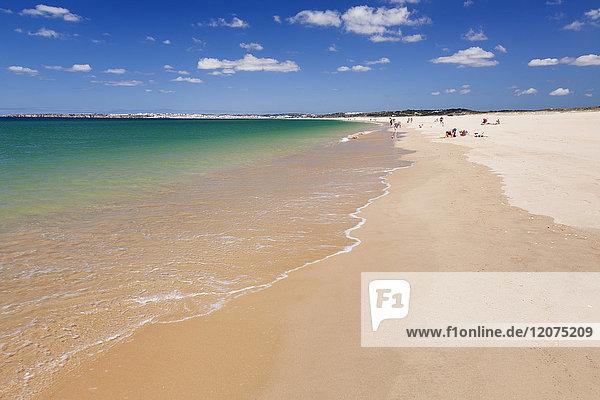 Praia de Tres Irmaos beach  Atlantic Ocean  Alvor  Algarve  Portugal  Europe