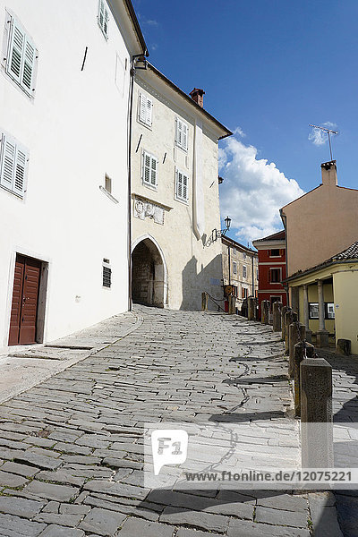 Hill village of Motovun  Istra Peninsula  Croatia  Europe
