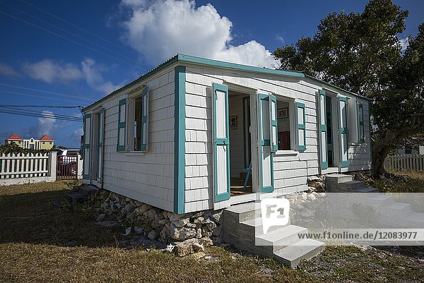 British Virgin Islands  Anegada  The Settlement  The Theodolph Faulkner House Museum  home of islander who championed direct rule of the BVI  exterior.