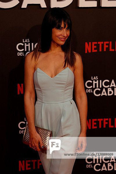 Premiere of the Netflix series Las chicas del cable.Xenia Tostado.Madrid. 27/04/2017.(Photo by Angel Manzano)..