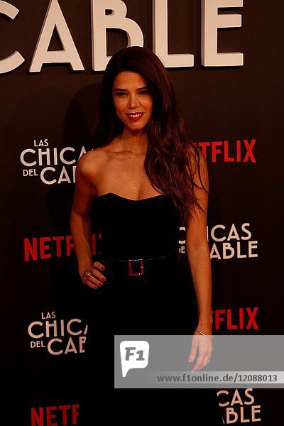 Premiere of the Netflix series Las chicas del cable.Juana Acosta.Madrid. 27/04/2017.(Photo by Angel Manzano)..