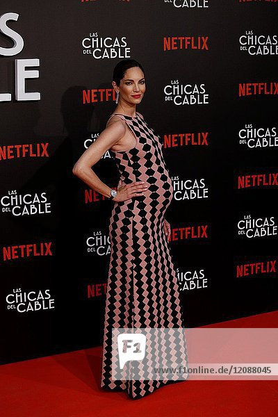 Premiere of the Netflix series Las chicas del cable.Eugenia Silva.Madrid. 27/04/2017.(Photo by Angel Manzano)..