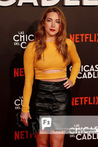 Premiere of the Netflix series Las chicas del cable.Natalia Rodriguez.Madrid. 27/04/2017.(Photo by Angel Manzano)..
