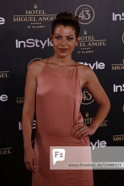 Thais Blume attends el jardin de Miguel Angel and In Style beauty night in Madrid  May  24  2017 (Photo by Angel Manzano)..