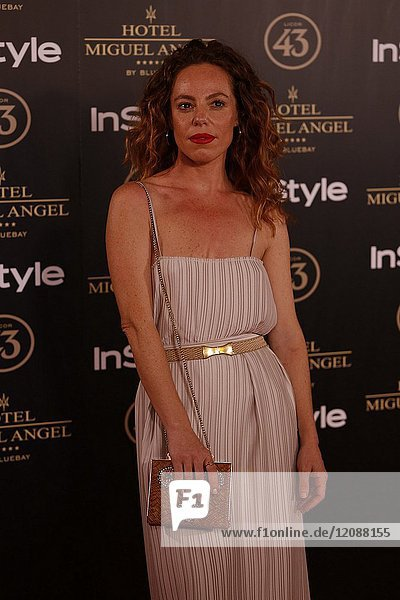 Silvia Marty attends el jardin de Miguel Angel and In Style beauty night in Madrid  May  24  2017 (Photo by Angel Manzano)..