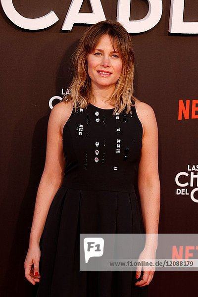 Premiere of the Netflix series Las chicas del cable.Lisi Linder.Madrid. 27/04/2017.(Photo by Angel Manzano)..