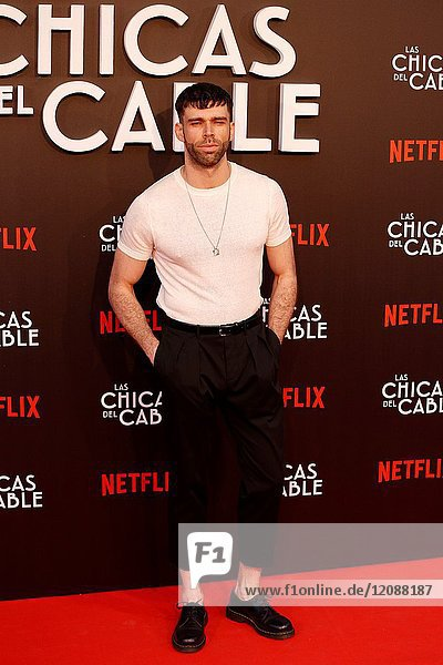 Premiere of the Netflix series Las chicas del cable.Fernando Valdivielso.Madrid. 27/04/2017.(Photo by Angel Manzano)..