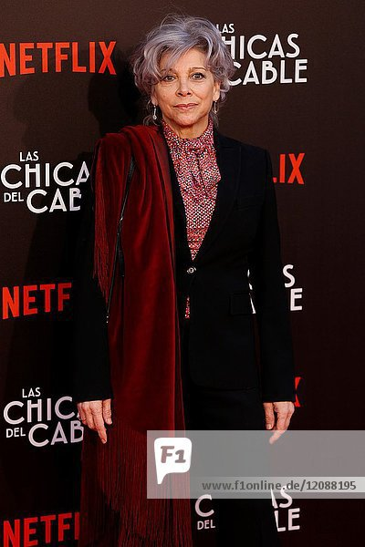 Premiere of the Netflix series Las chicas del cable.Kiti Manver.Madrid. 27/04/2017.(Photo by Angel Manzano)..