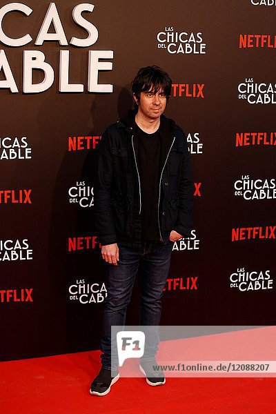 Premiere of the Netflix series Las chicas del cable.Eduardo Chapero Jackson.Madrid. 27/04/2017.(Photo by Angel Manzano)..