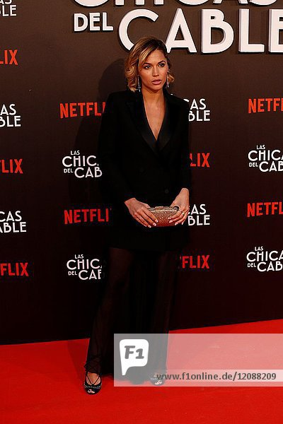 Premiere of the Netflix series Las chicas del cable.Michelle Calvo.Madrid. 27/04/2017.(Photo by Angel Manzano)..
