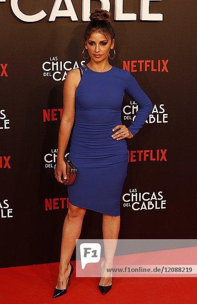 Premiere of the Netflix series Las chicas del cable.Monica Cruz.Madrid. 27/04/2017.(Photo by Angel Manzano)..
