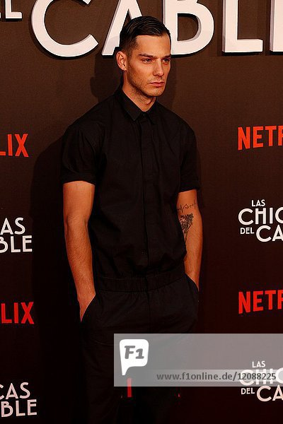 Premiere of the Netflix series Las chicas del cable.Joel Bosqued.Madrid. 27/04/2017.(Photo by Angel Manzano)..