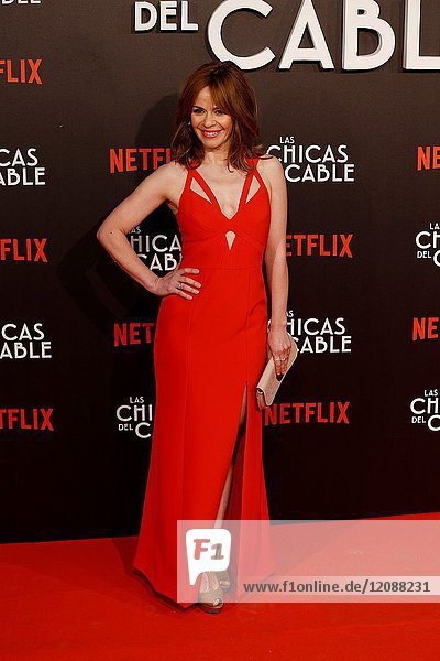 Premiere of the Netflix series Las chicas del cable.Maria Adanez.Madrid. 27/04/2017.(Photo by Angel Manzano)..