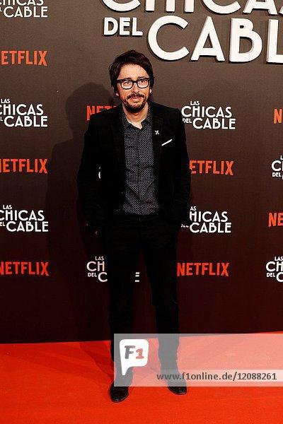 Premiere of the Netflix series Las chicas del cable.Enrique Domingo Perez Flipy.Madrid. 27/04/2017.(Photo by Angel Manzano)..