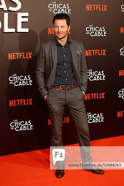 Premiere of the Netflix series Las chicas del cable.Fernando Andina.Madrid. 27/04/2017.(Photo by Angel Manzano)..