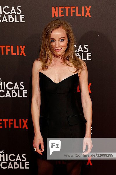 Premiere of the Netflix series Las chicas del cable.Angela Cremonte.Madrid. 27/04/2017.(Photo by Angel Manzano)..