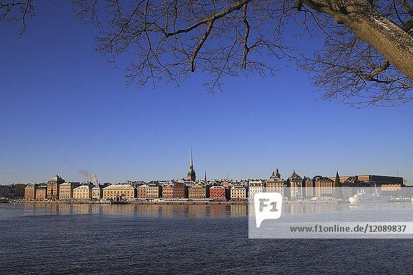 Stockholm in winter  Sweden
