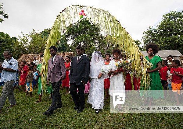 Traditional wedding in the tribe  Malampa Province  Ambrym island  Vanuatu.