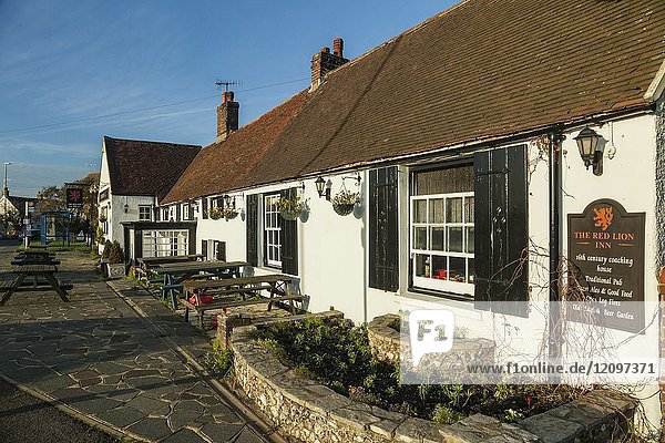 Traditional English pub in Shoreham-by-Sea  West Sussex  England.