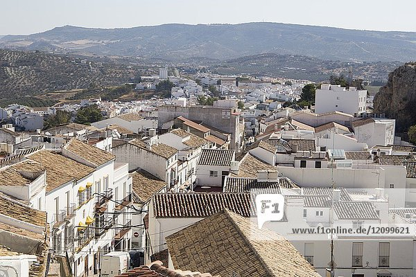 Olvera is one of the most beautiful villages in Spain  Andalusia  Spain  Andalusia  Spain.