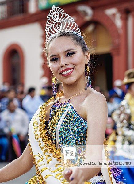 Fiesta de la Virgen de la Candelaria  Main Square  Puno  Peru.