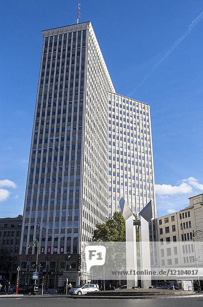 Bastion Tower  Brussels  Belgium.