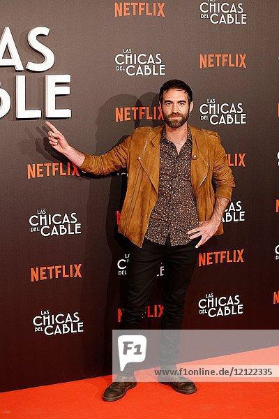 Premiere of the Netflix series Las chicas del cable.Jon Plazaola.Madrid. 27/04/2017.(Photo by Angel Manzano)..