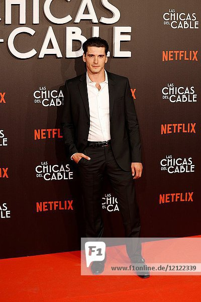 Premiere of the Netflix series Las chicas del cable.Yon Gonzalez.Madrid. 27/04/2017.(Photo by Angel Manzano)..