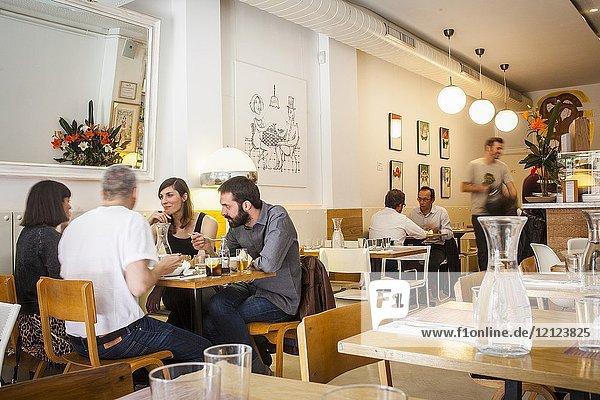 Gut cafe-restaurant Perill 13 Barcelona  Spain.