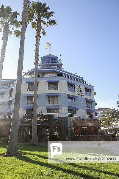 Waterfront Hotel  Jack London Square  Oakland  California  United States.
