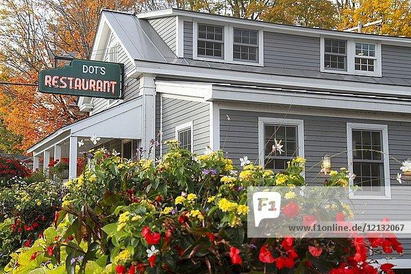 Dot's Restaurant  Wilmington  Vermont  United States  North America.