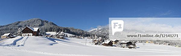 Österreich  Oberösterreich  Salzkammergut  Gosau  Skigebiet Dachstein-West