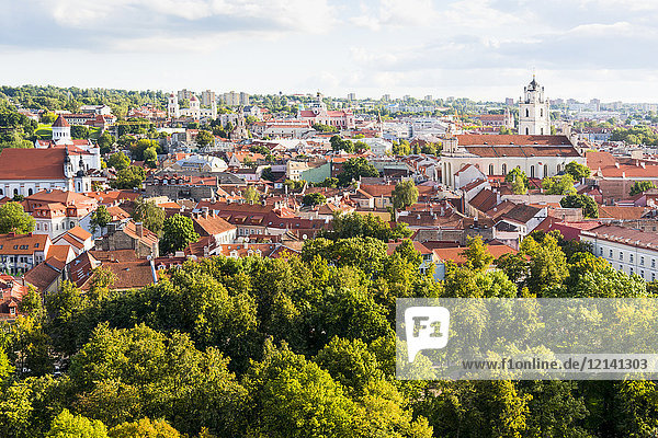 Litauen  Vilnius  Altstadt