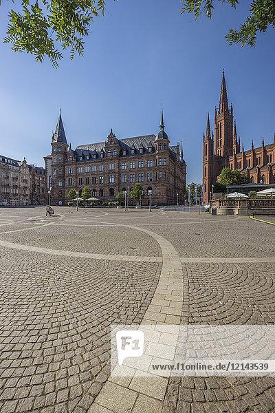 Deutschland  Hessen  Wiesbaden  Dernsches Gelaende  Marktkirche