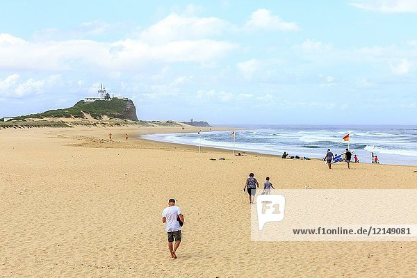 Nobbys beach in Newcastle  newcastle is the second largest city in New South Wales Australia.