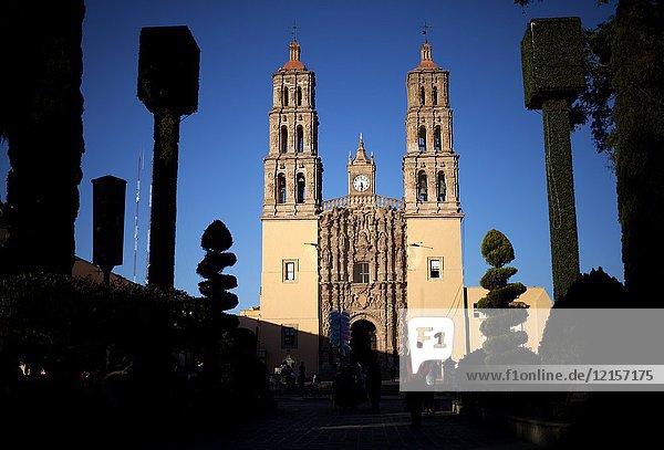 The Parroquia de Nuestra Se–ora de los Dolores in Dolores Hidalgo  Mexico. Dolores Hidalgo was the Cradle of National Independence.