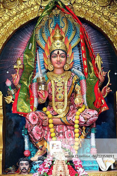 Sri Veeramakaliamman Hindu Temple. Sri Mariamman.
