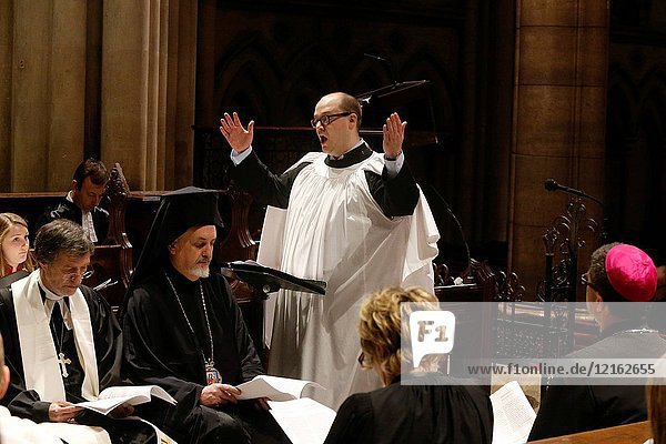 Ecumenical celebration in Holy Trinity American cathedral