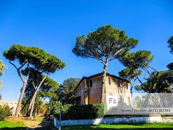 Parco del Colle Oppio  Esquiline Hill  Rome  Lazio  Italy.