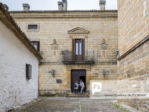 Palacio Casa Rubin de Ceballos. Baeza. Jaén. Andalusia. Spain.