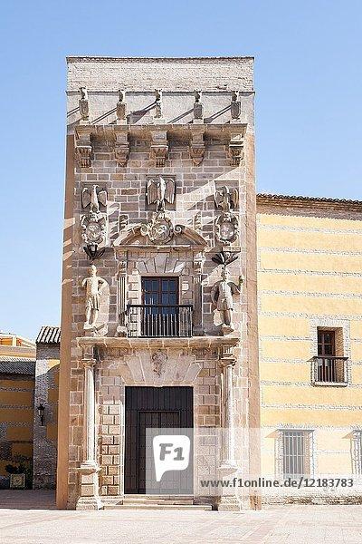 Casa palacio de los niños de Don Gome. Andújar. Jaén. Andalusia. Spain.