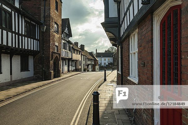 Historic rural town of Steyning in West Sussex  England.
