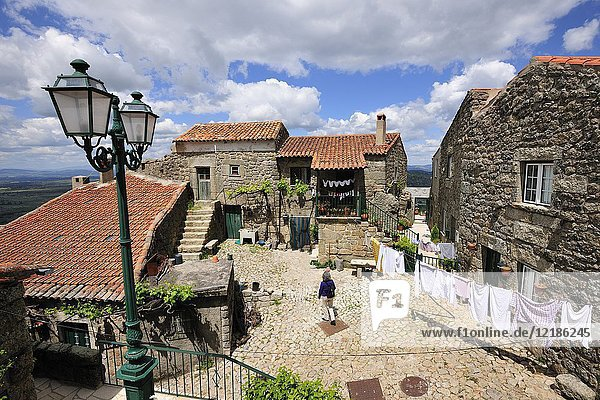 The medieval and historical village of Monsanto. Portugal.