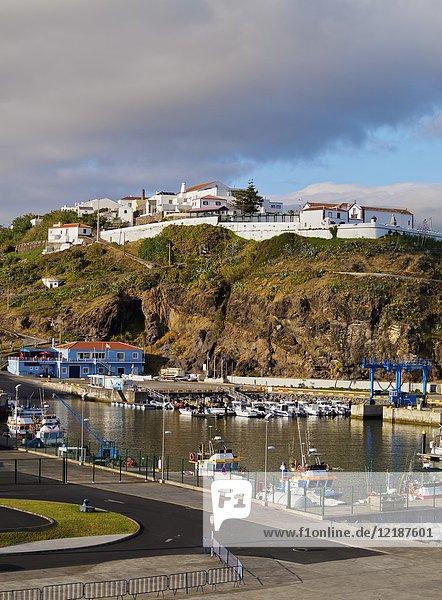 Port in Vila do Porto  Santa Maria Island  Azores  Portugal.