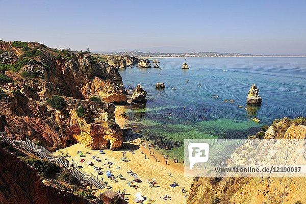 Camilo beach  Lagos. Algarve  Portugal.