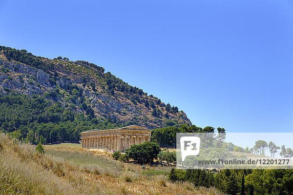 Italien  Provinz Trapani  Tempel von Segesta