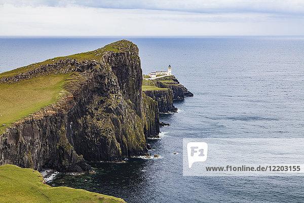 Großbritannien  Schottland  nner Hebrides  Isle of Skye  Neist Point  Leuchtturm