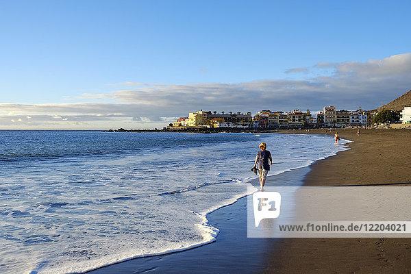 Spanien  Kanarische Inseln  La Gomera  La Playa  Strand